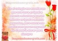 Imágenes de amor: Un segundo sin tí es una eternidad