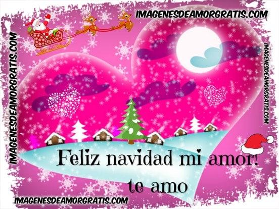 imagenes feliz navidad mi amor