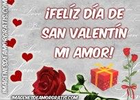 Imágenes de amor: ¡Feliz día de San Valentín mi amor!