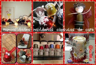 Collage capsulas de café
