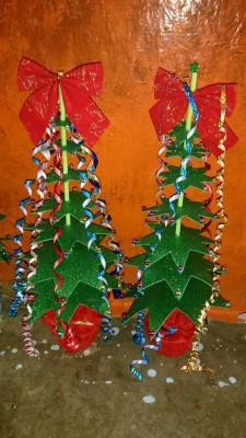 Arboles de Navidad Manualidades IV (5)