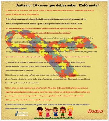 Autismo 10 informate