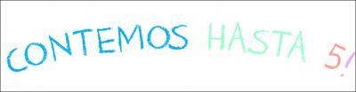 CONTEMOS HASTA 5