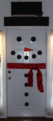 Manualidades navideñas puertas (11)