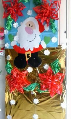 Manualidades navideñas puertas (2)
