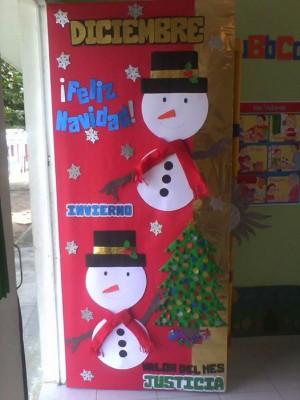 Manualidades navideñas puertas (3)