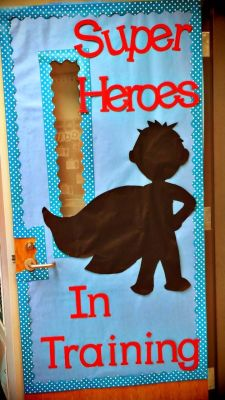 Puertas para nuestra clase o sal n ideas para decorar for Puertas 3 de febrero