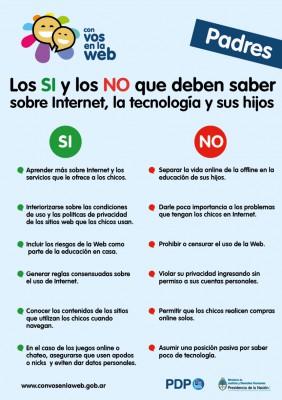 Seguridad Internet hijos y alumnos