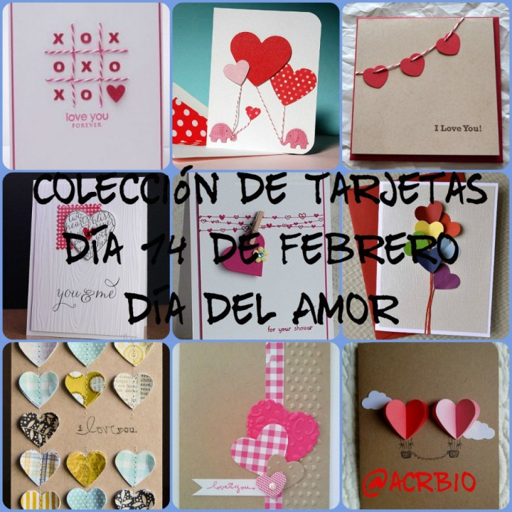 Collage Tarjetas San Valentin