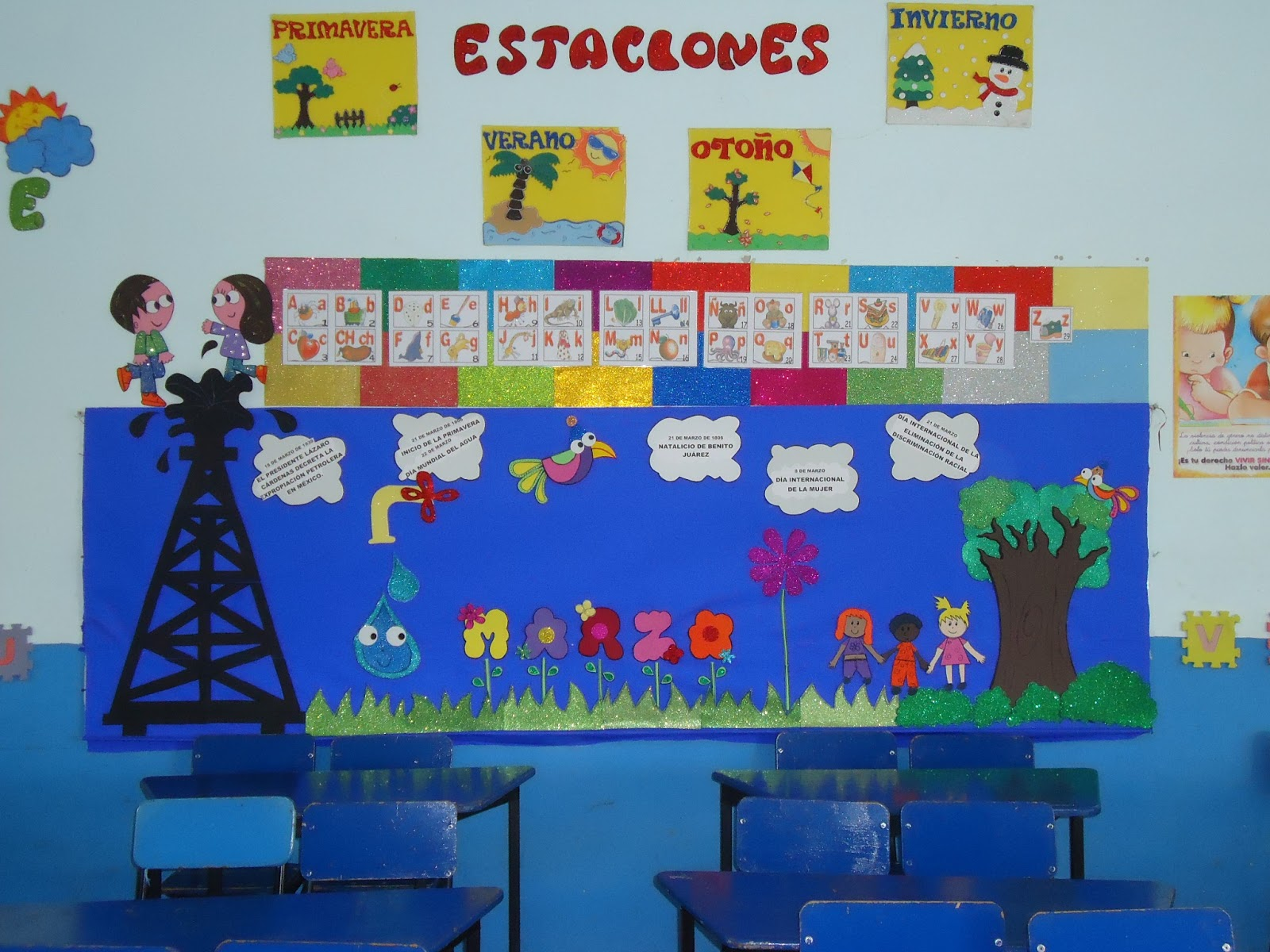 Periodico mural 17 imagenes educativas for Como decorar un mural