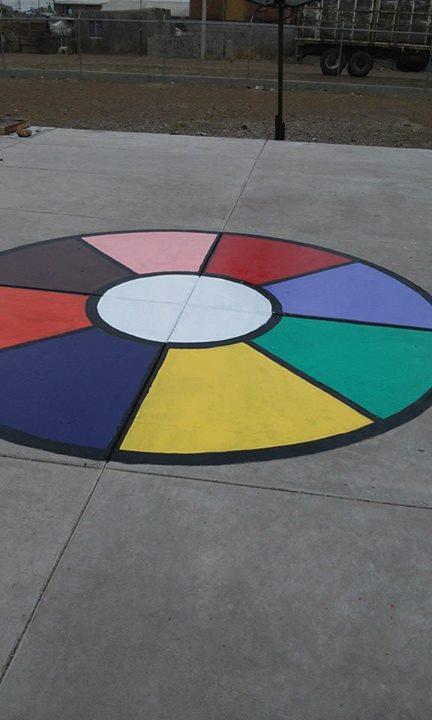 Decoracion patio colegio 8 imagenes educativas - Ideas para pintar un piso ...