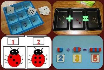 Juegos Matematicos Caseros Collage