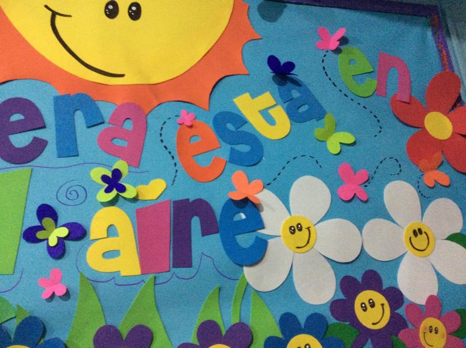 Primavera murales 4 imagenes educativas - Murales con fotos ...