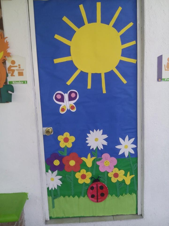 Puertas primavera 9 imagenes educativas for Decoracion de puertas de salones