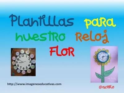 reloj - clock plantillas - templete  -  (1)