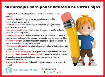 10 Consejos para poner límites a nuestros hijos