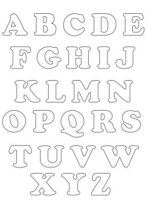 Completa coleccin de abecedarios para imprimir y colorear