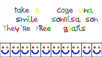 Coge una sonrisa son gratis-