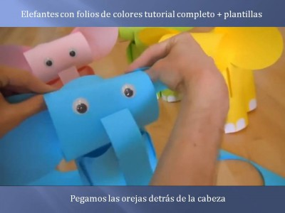 Elefantes con folios de colores tutorial (9)