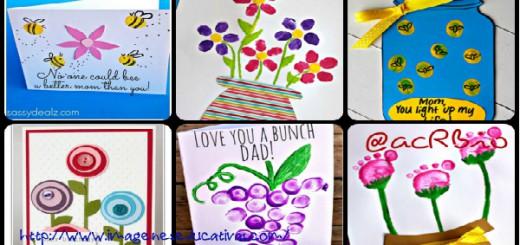 Tarjeta Día de la Madre Collage Portada