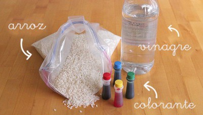 Caja sensorial arcoiris de arroz (6)