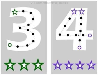 Estupenda manualidad para aprender el trazo de los números (2)