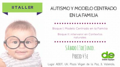 II Taller Autismo y Modelo Centrado en la Familia