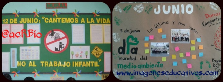 PERIÓDICO MURAL de Junio Collage