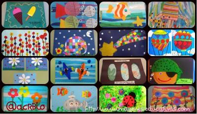 TAPES D'ÀLBUM TAPAS PARA ÁLBUM collage