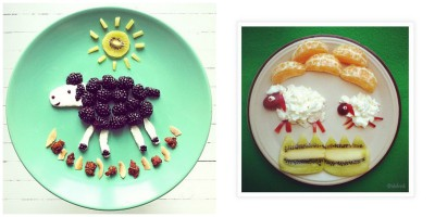 Decoraciones veraniegas para nuestros platos de fruta (12)