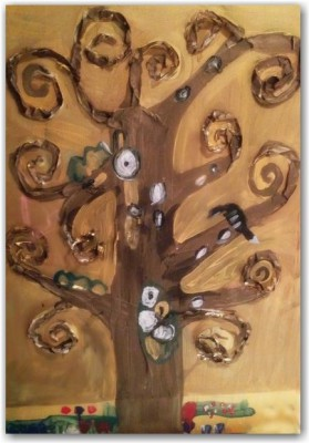 El arte en el aula trabajamos con Gustav Klimt  (2)