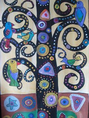 El arte en el aula trabajamos con Gustav Klimt  (24)