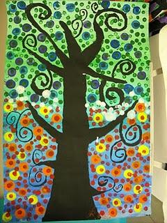 El arte en el aula trabajamos con Gustav Klimt  (27)