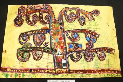 El arte en el aula trabajamos con Gustav Klimt  (3)