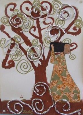 El arte en el aula trabajamos con Gustav Klimt  (7)