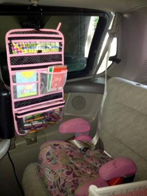 kits de viaje y organizadores de coche DIY Para viajar con niños (16)