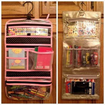 kits de viaje y organizadores de coche DIY Para viajar con niños (24)