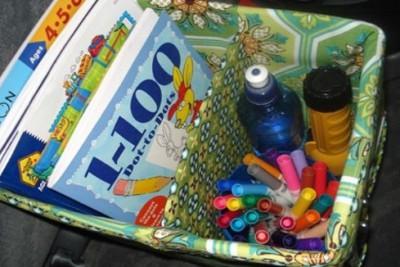 kits de viaje y organizadores de coche DIY Para viajar con niños (27)