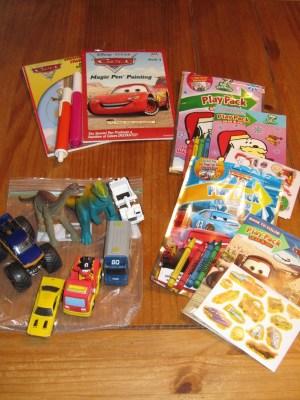 kits de viaje y organizadores de coche DIY Para viajar con niños (6)
