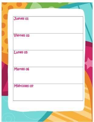 Agenda curso 2015-2016. Motivo Búhos (47)