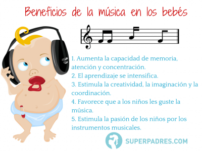 Beneficios de la música en los bebés( relacionar artícle musica)