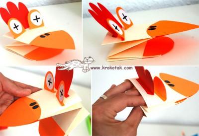 Marionetas de cartulina para manos (4)