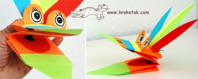 Marionetas de cartulina para manos (5)