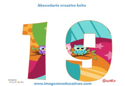 Números creativos Búhos 1 al 20 (19)