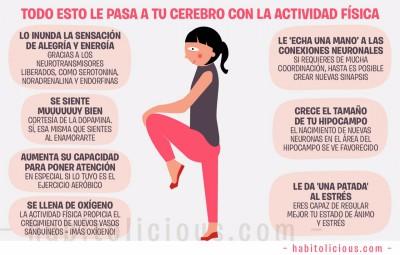 Todo esto le pasa a tu cerebro con la actividad física