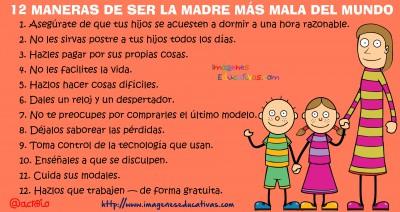 12 MANERAS DE SER LA MADRE MÁS MALA DEL MUNDO2