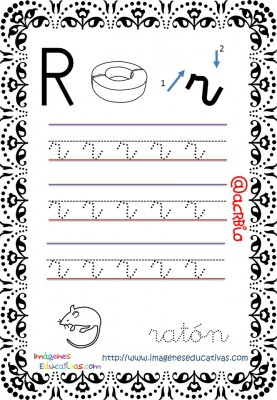 Cuaderno de trazos Imágenes Educativas letra escolar (19)