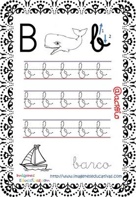 Cuaderno de trazos Imágenes Educativas letra escolar (2)