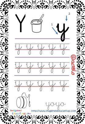 Cuaderno de trazos Imágenes Educativas letra escolar (26)