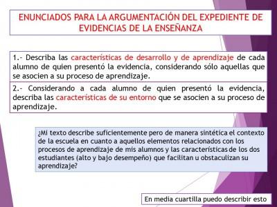 Expediente o portafolios de evidencias. Autoevalua tu texto de análisis (6)